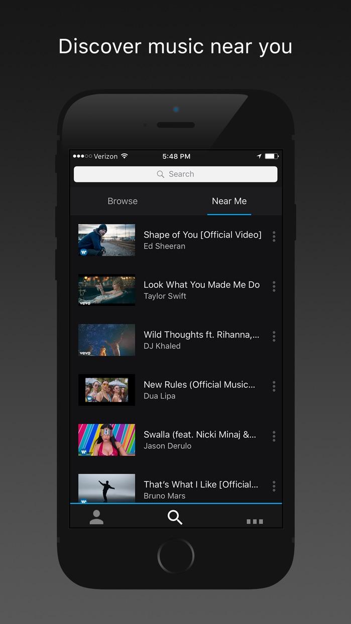 Trending Music Player Screenshot