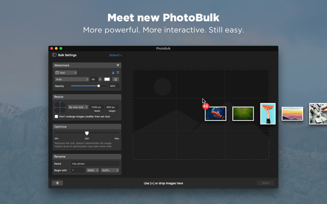‎PhotoBulk: watermark in batch Screenshot