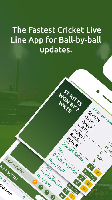 Cricket Live Line screenshot two