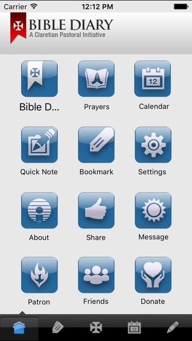 Screenshot for Bible Diary in India App Store