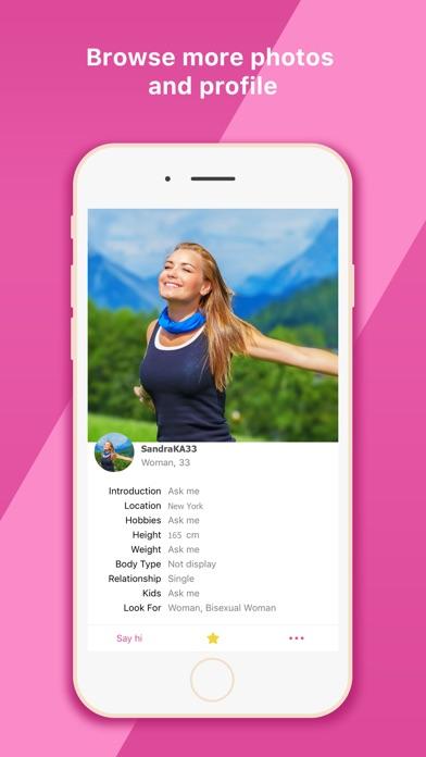 ... Lesbian Dating Chat Meet App