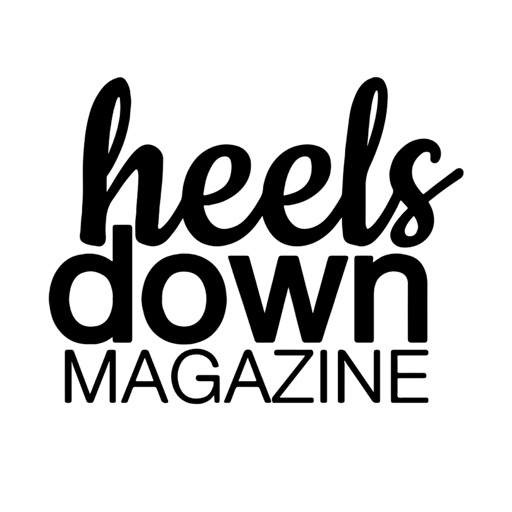 Heels Down Magazine application logo