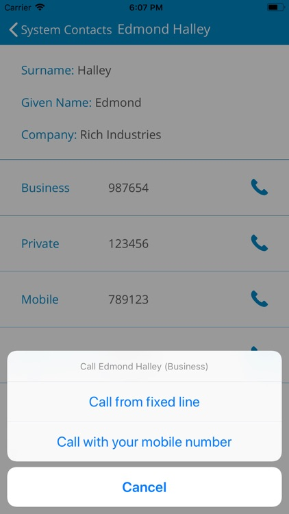 COMfortel Mobile Business screenshot-6