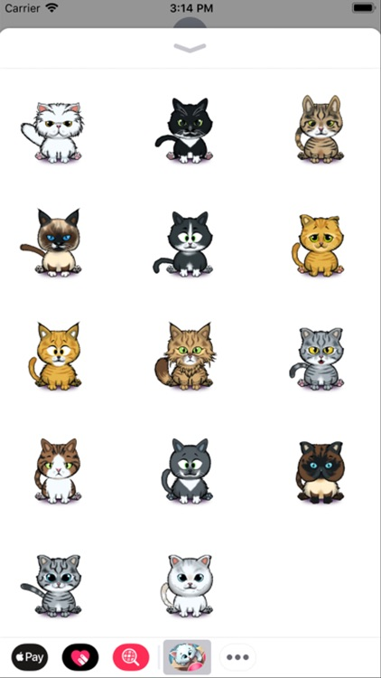 Kitty Snatch CUTE CAT Stickers
