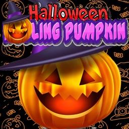 Rolling Halloween Pumpkin