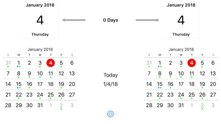 Time Jump - Date Calculator screenshot-0