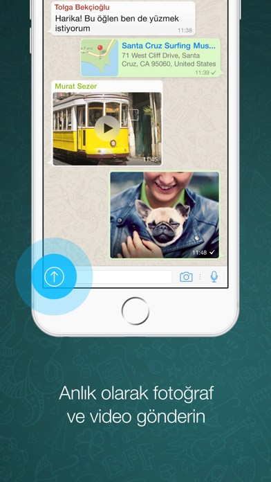 Screenshot for WhatsApp Messenger in Turkey App Store