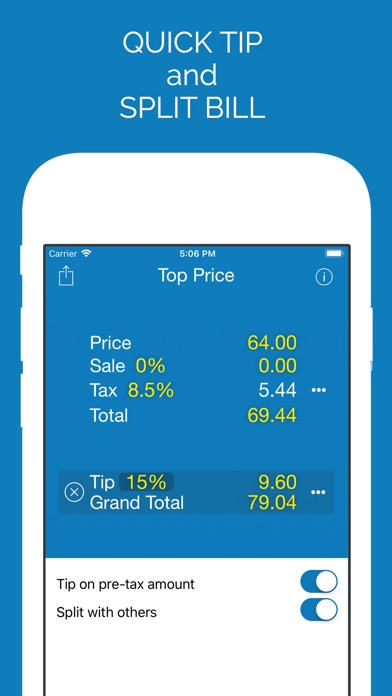 top price sales tax calculator by monkeylabs inc finance