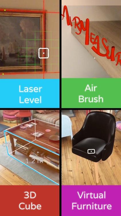AirMeasure - AR Tape & Ruler screenshot-4