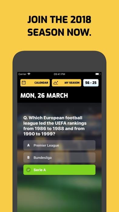 Football Trivia 365 screenshot 1
