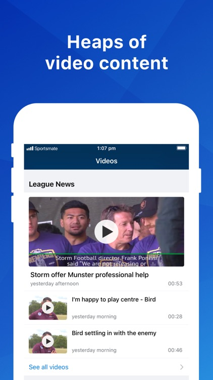 League Live: NRL Scores & News screenshot-3