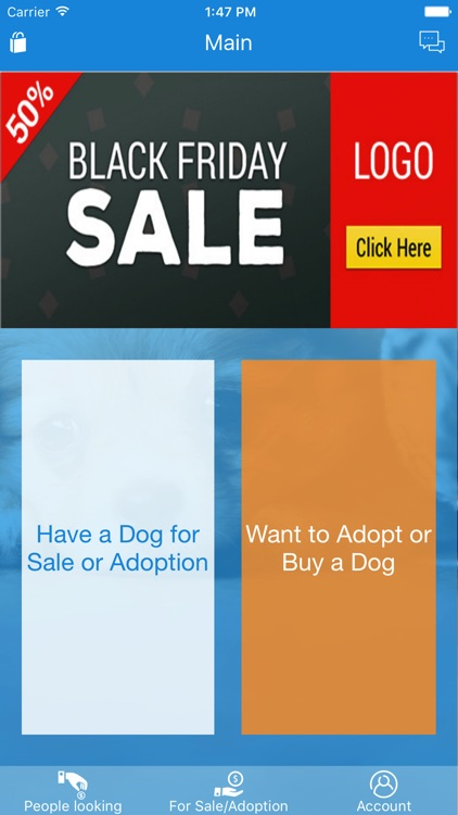 Adopt Buy Dogs Shop