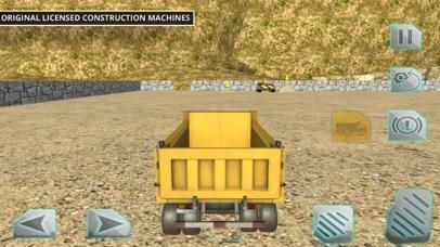 Driving Truck Construction Cit screenshot one