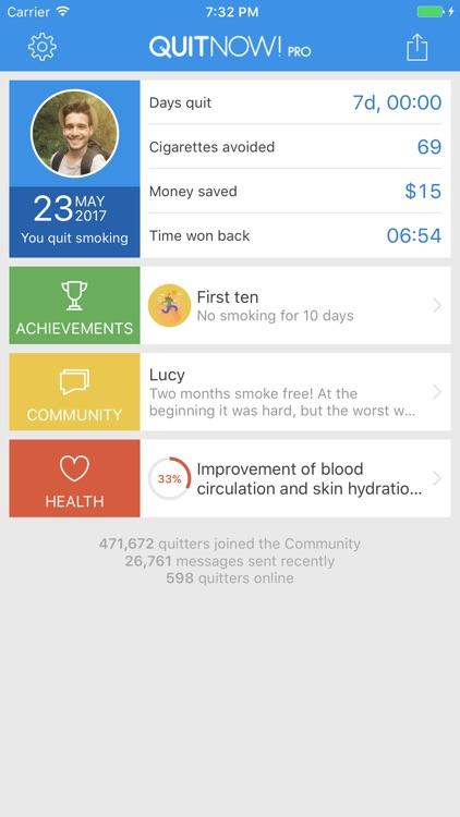 Quit smoking - QuitNow! PRO