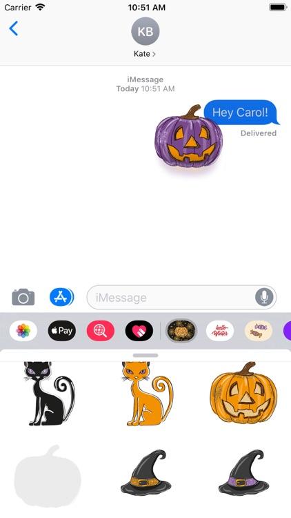 Halloween Design Stickers screenshot-4