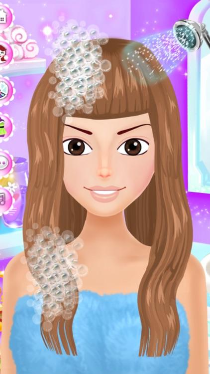Dress Up Games for Girls Salon screenshot-3