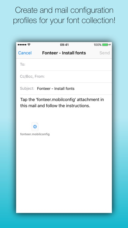 Fonteer Premium screenshot-1