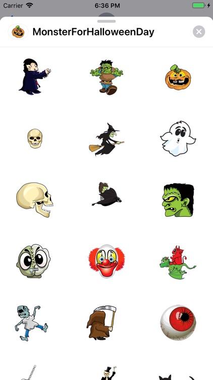 Monster For Halloween Days