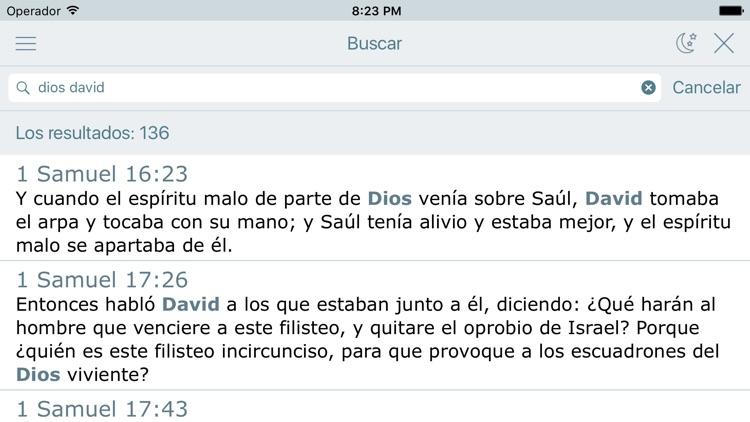 La Biblia Reina Valera Audio screenshot-3
