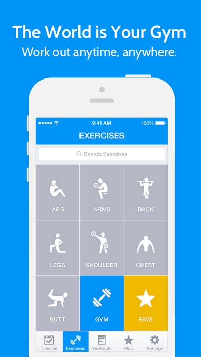 Instant Fitness: Workout Trainerのおすすめ画像1