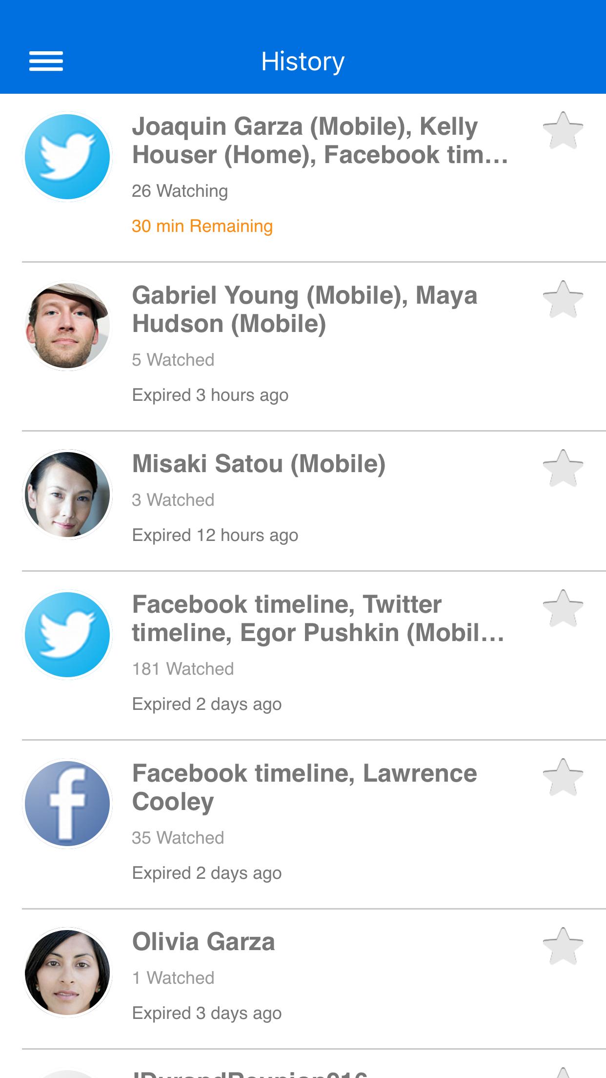Glympse -Share your location Screenshot