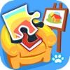 宝宝拼图:家居 -熊大叔儿童教育游戏
