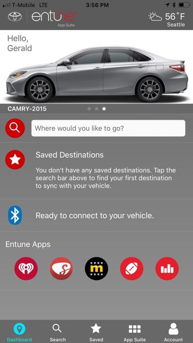 Toyota Entune - AppRecs