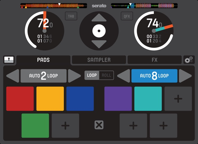 Serato Remote Screenshot