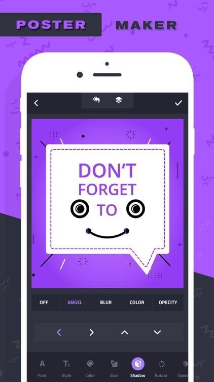 Poster Maker–Add Text to photo screenshot-4