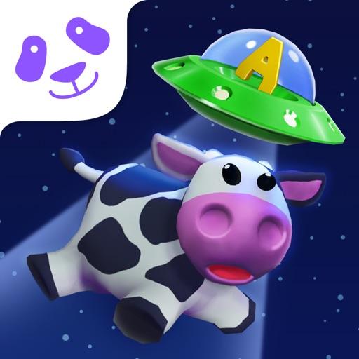 Square Panda Space Cows