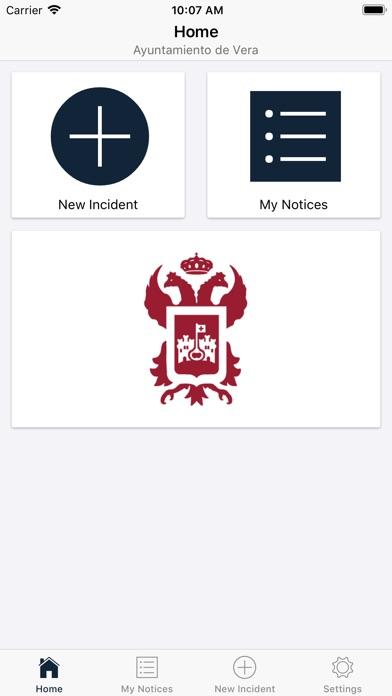Ayuntamiento de Vera screenshot 2