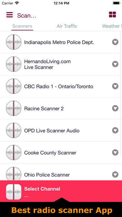 Police & radio scanners live | App Price Drops