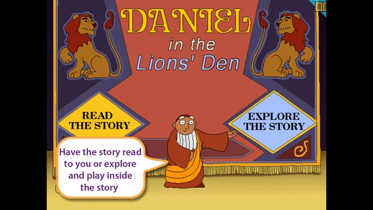 Daniel in the Lion's Den by LA