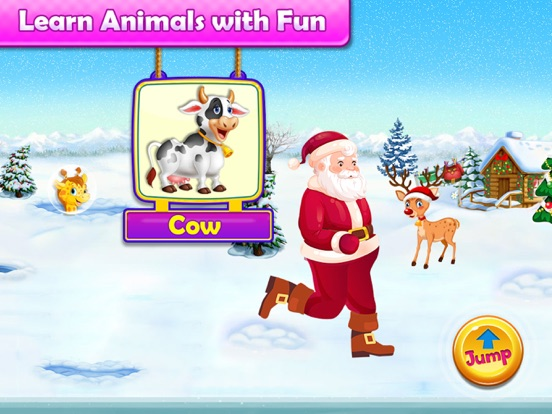 Santa Run - Learning FlashCard screenshot 10