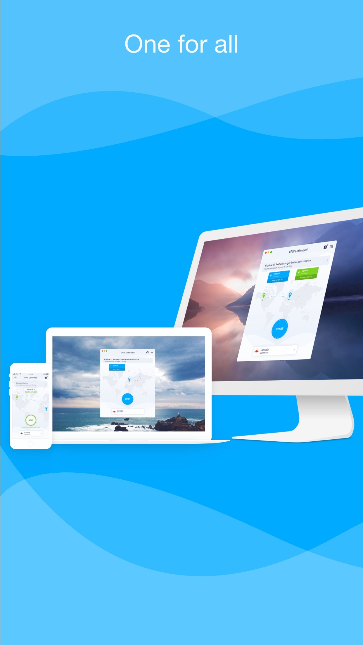 VPN Unlimited|Proxy for iPhone Screenshot