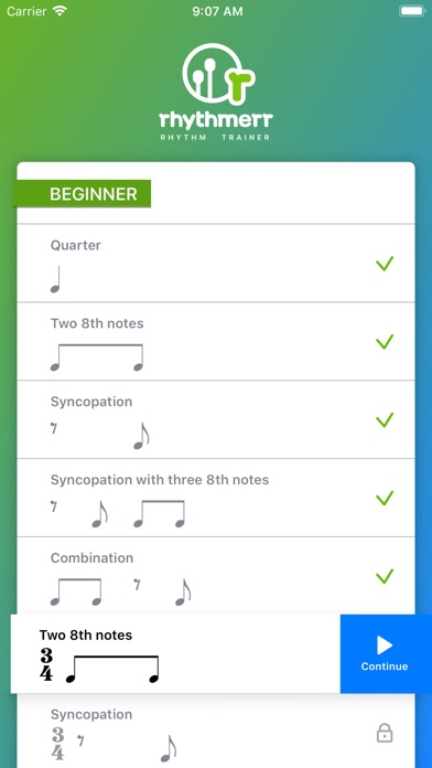 The Rhythm Trainer app image
