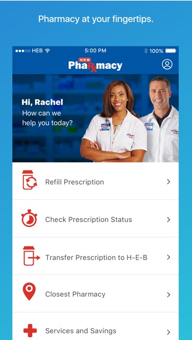 H E B Pharmacy By H E B Ios United States Searchman App Data