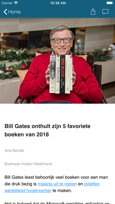 Business Insider NL screenshot four
