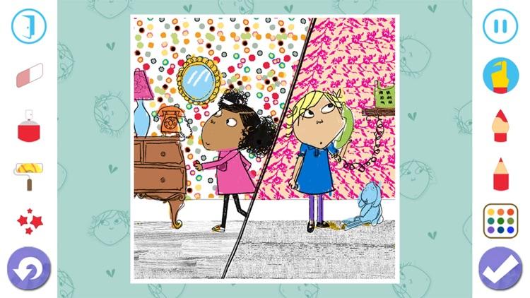 Charlie and Lola Colouring screenshot-4