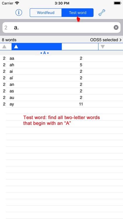 Français Words Finder Wordfeud screenshot-4