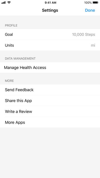 StepsMeter: Pedometer screenshot 3