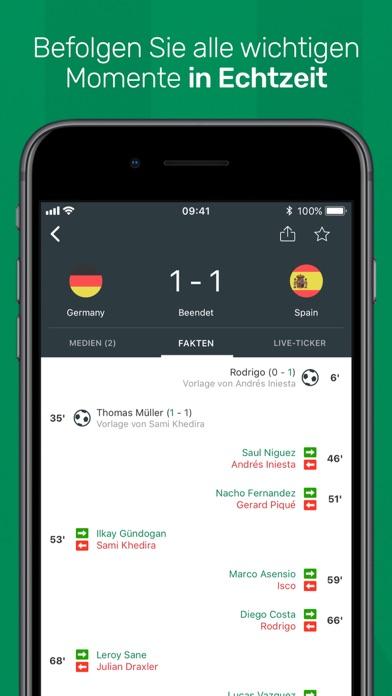 Screenshot for FotMob Fußball Ergebnisse in Austria App Store