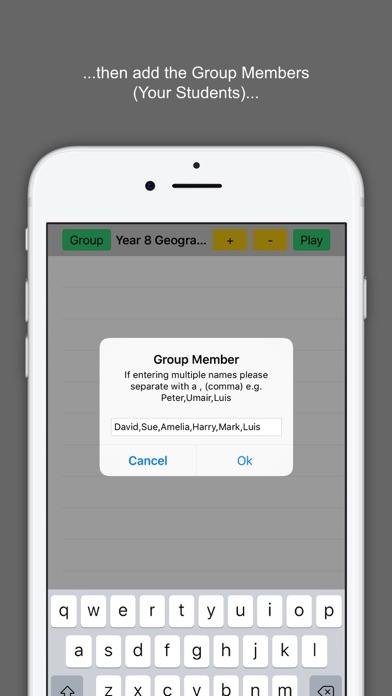 Random Team Selector Starter screenshot three