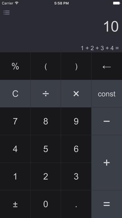 Screenshot #6 for CalcBox - Smart Calculator
