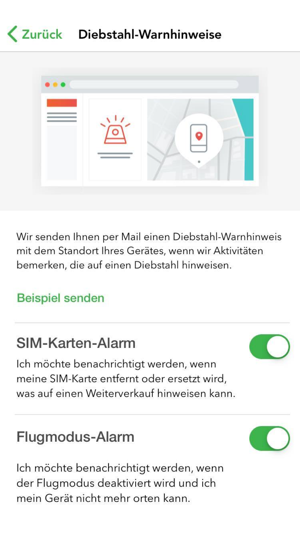 Lookout, Mobile Security Screenshot