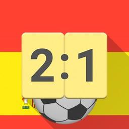 Live Scores for La Liga 2017 / 2018 Football App