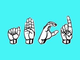 Sign Language Stickers Emoji
