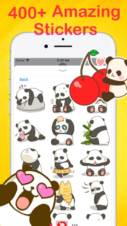 Panda Stickers Collection