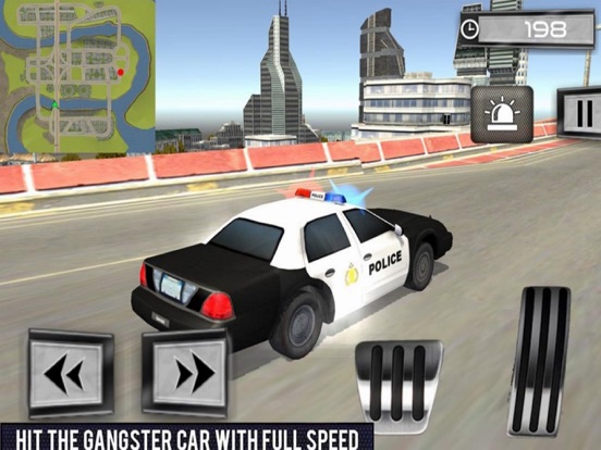 Car Police Chase - Thief City screenshot 4