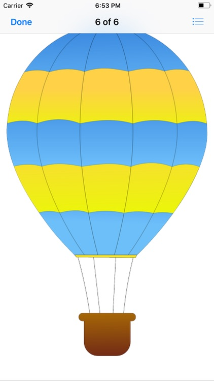 Lotsa Hot Air Balloon Stickers screenshot-7